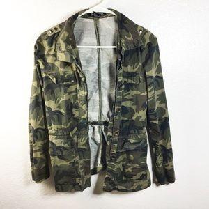 Jackets & Blazers - Camo Utility Jacket Studs